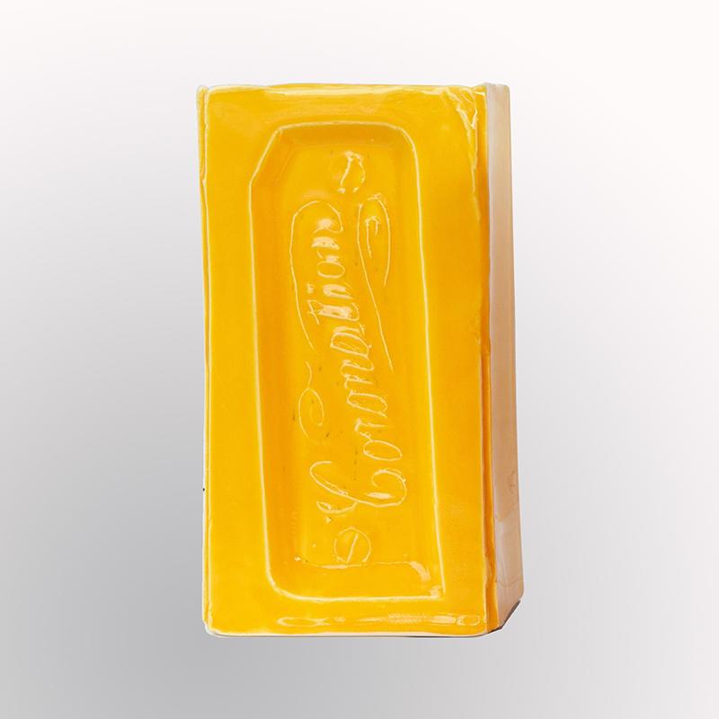CE2020_Englemohr_Ian_coronation_brick_vase_mustard